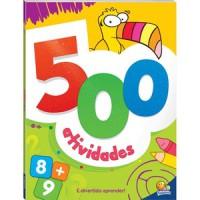500 Atividades - Laranja