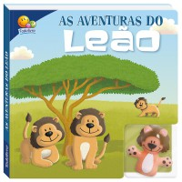 Dedoche - Leia e brinque: As aventuras do leão