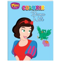 Mini - colorir: Branca de neve