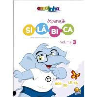 Escolinha Separação silábica: Vol. 3