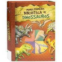 Minha Primeira Biblioteca de Dinossauros - Box com 6 unidades.
