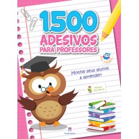 1500 adesivos - Motive seus alunos a aprender!