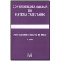 Contribuições sociais no sistema tributário - 7 ed./2018