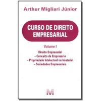 Curso de direito empresarial - Volume I - 1 ed./2018