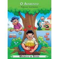 Turma da Mônica - fábulas ilustradas - o avarento