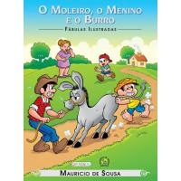 Turma da Mônica - fábulas ilustradas - o moleiro, o menino e o burro