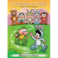 Turma da Mônica - fábulas ilustradas - a tartaruga e a lebre