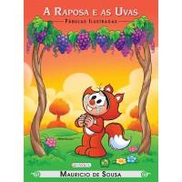Turma da Mônica - fábulas ilustradas - a raposa e as uvas