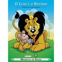 Turma da Mônica - fábulas ilustradas - o leão e o ratinho