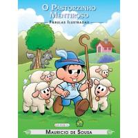 Turma da Mônica - fábulas ilustradas - o pastorzinho mentiroso