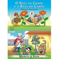 Turma da Mônica - fábulas ilustradas - o rato da cidade e o rato do campo