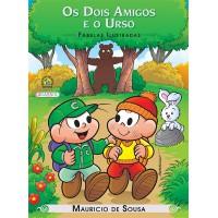 Turma da Mônica - fábulas ilustradas - os dois amigos e o urso