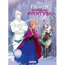 Disney - Frozen - colorindo com - aventura