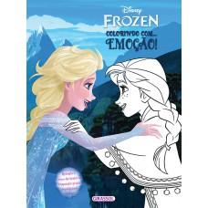 Disney - Frozen - colorindo com - emoção