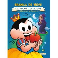Turma da Mônica - clássicos Ilustrados novo - Branca de Neve