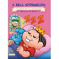 Turma da Mônica - clássicos Ilustrados novo - A Bela Adormecida