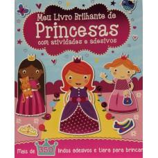 Meu Livro Brilhante - Princesas e Adesivos Igloo Books