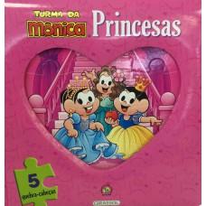 Turma da Mônica Livro e Quebra-Cabeças Princesas