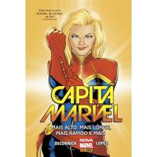 Capitã Marvel: Mais Alto, Mais Longe, Mais Rápido E Mais