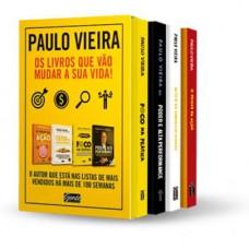 BOX PAULO VIEIRA OS LIVROS QUE VAO M