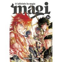 Magi: O labirinto da magia - Vol. 34