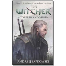 A torre da andorinha - The Witcher - A saga do bruxo Geralt de Rívia (Capa game)