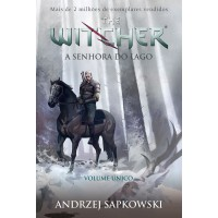 A Senhora do lago - The Witcher - A saga do bruxo Geralt de Rívia (Capa game)