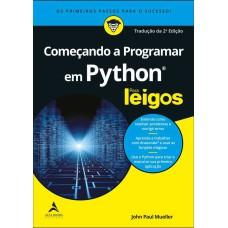 Começando a programar em Python para leigos