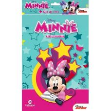 Minnie - Ler e colorir com Giz