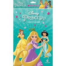 Princesas - Ler e colorir com Giz