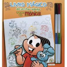 Turma da Mônica - livro mágico desenha-apaga