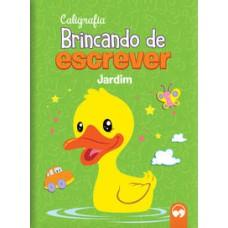 BRINCANDO DE ESCREVER - JARDIM