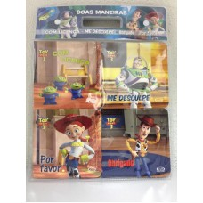 Kit boas maneiras - Toy Story