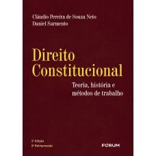 Direito constitucional - teoria historia e métodos de trabalho