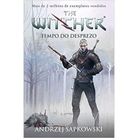 Tempo do desprezo - The Witcher - A saga do bruxo Geralt de Rívia (Capa game)