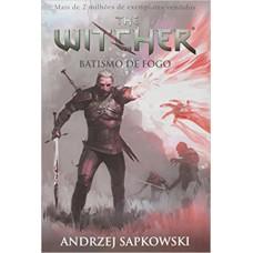 Batismo de fogo - The Witcher - A saga do bruxo Geralt de Rívia (Capa game)
