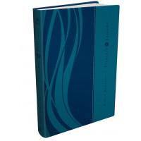Bíblia Presente de Batismo, NVI, Couro Soft, Azul
