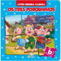 Os Tres Porquinhos - Livro Quebra Cabeca Pequeno