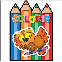 Colorir - Coruja