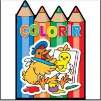 Colorir - Galinha