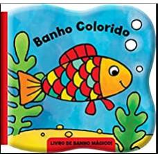 Banho colorido - peixe