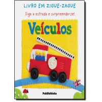 Veiculos - Livro Em Zigue-Zague