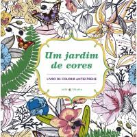 Um jardim de cores