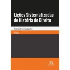 Lições sistematizadas de história do direito