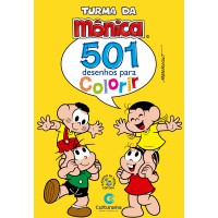 501 DESENHOS PARA COLORIR TURMA DA MONICA