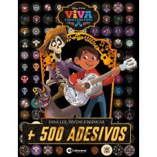 500 Adesivos Disney Viva