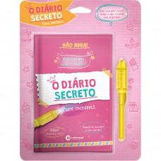 DIARIO SECRETO COM CANETA MAGICA - ROSA