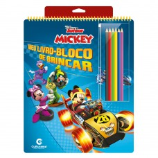MEU LIVRO-BLOCO DE BRINCAR MICKEY
