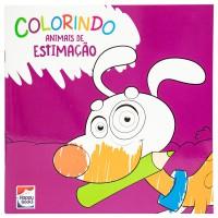 Colorindo animais: animais de estimação