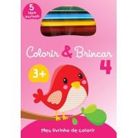 Colorir & brincar 4 : Rosa